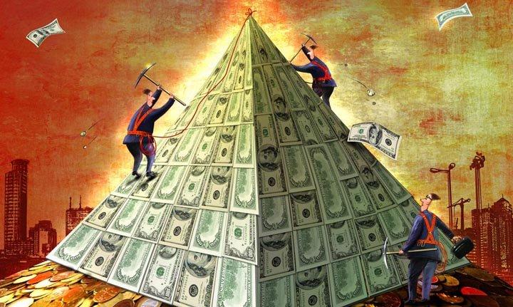 Банк заявляет, что Осло Марин была пирамидой