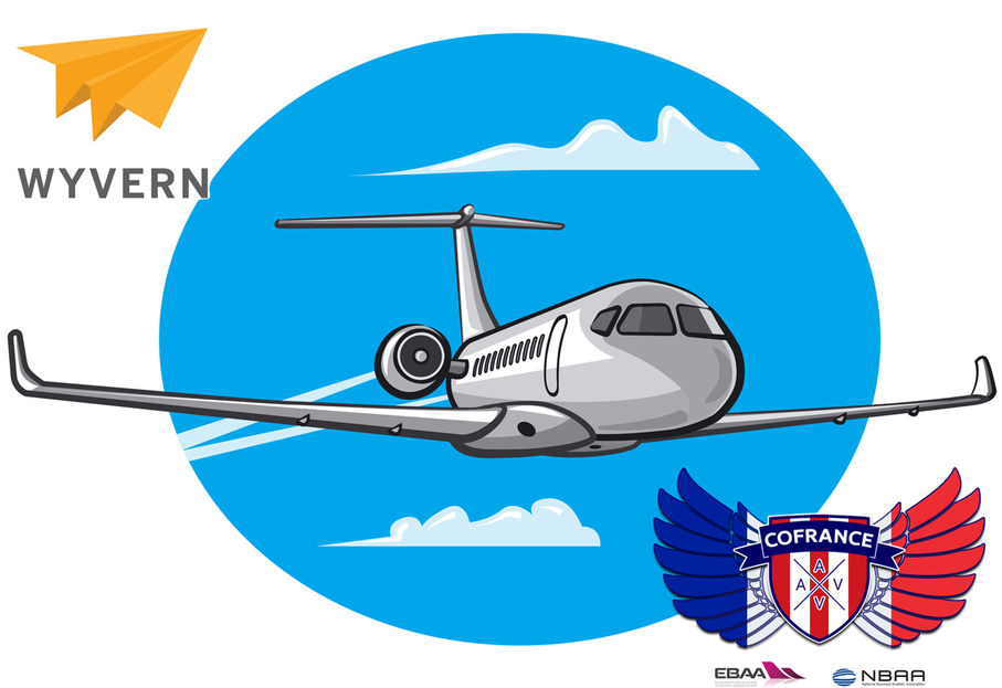 Первый в Ницце: AVIAV™ (Cofrance SARL) стал членом Wyvern Ltd