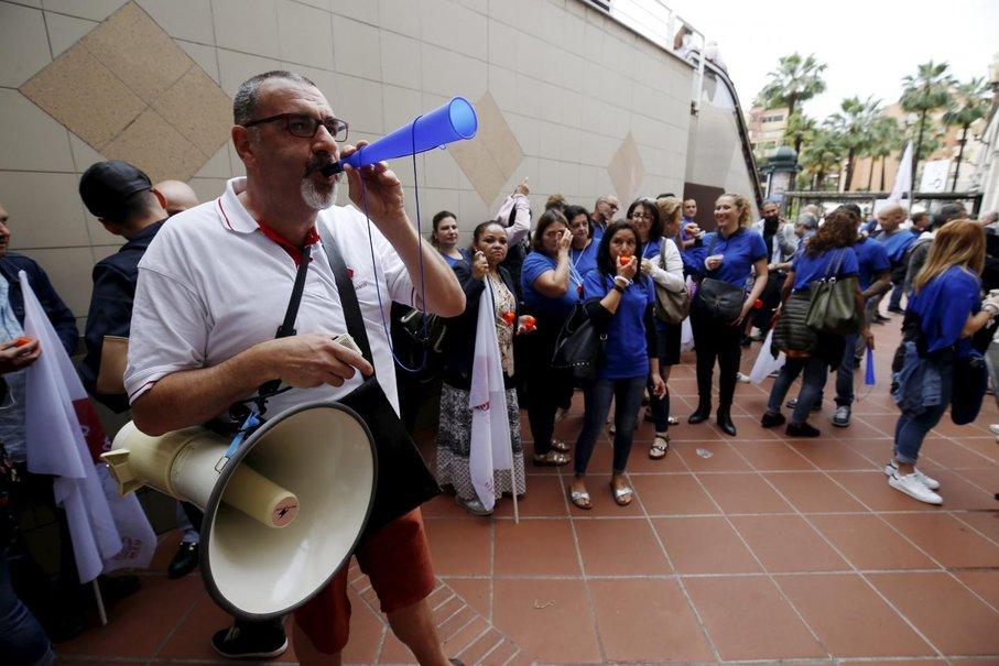Забастовка в Монако